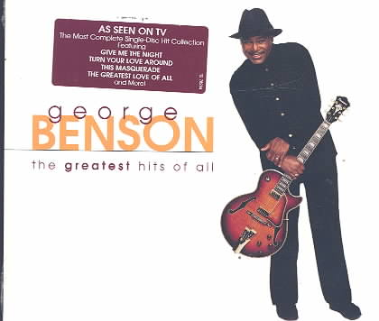 GREATEST HITS OF ALL BY BENSON,GEORGE (CD)