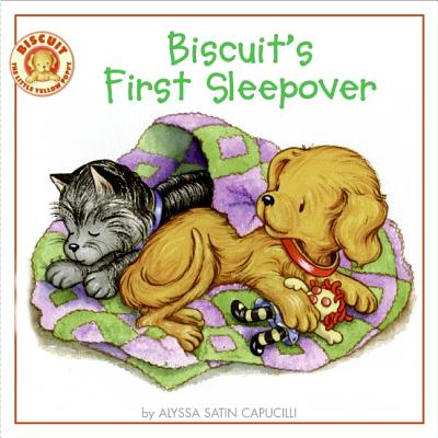 Biscuit's First Sleepover By Capucilli, Alyssa Satin